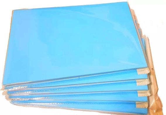 300 Folhas Papel Sublimático Resinado A4 90g Fundo Azul