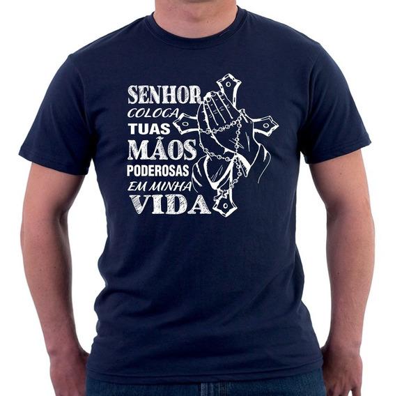 Camisa Camiseta Com Imagens De Santos Estampas Catolica