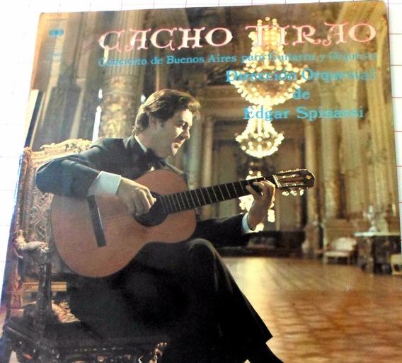 Disco Vinilo Doble Cacho Tirao Concierto De Buenos Aires