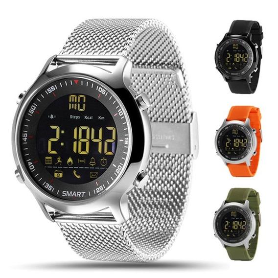 Ex18 Inteligente Reloj Ip67 Prueba D \