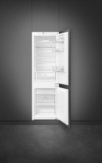 Heladera Con Freezer Smeg Ci170nfar Panelable 2 Puertas