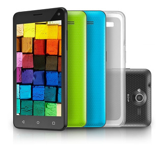 Smartphone Multilaser Ms50 Colors 3g, Quad Core, 8mp, 16gb,