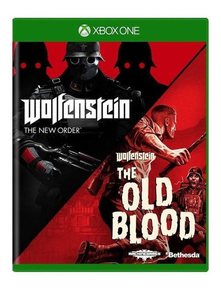 Wolfenstein Old Blood + Wolfenstein The New Order Xbox One