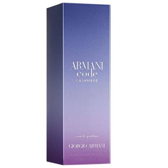 Perfume Armani Code Cashmere 75ml Original Lacrado