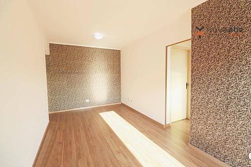 Apartamento Com 2 Dormitórios Para Alugar, 68 M² Por R$ 1.400/mês - Parque Das Nações - Santo André/sp - Ap3334