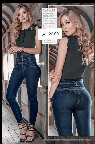 Pantalon Jean Cintura Alta Mercado Libre
