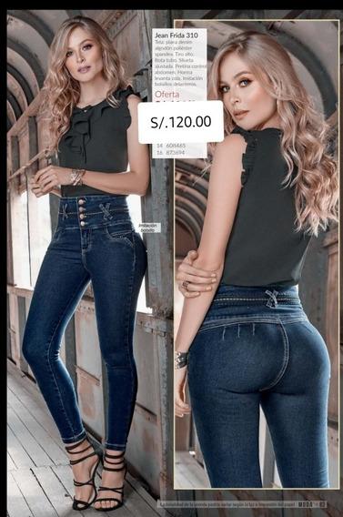 Pantalon Jean Cintura Alta Mercadolibre Com Pe