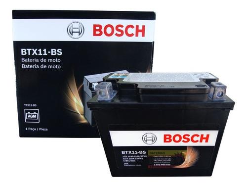 Imagem 1 de 3 de Bateria Moto Bosch Btx10-bs 10ah 12v Kawasaki 650r Vl800