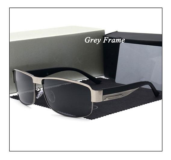 Óculos De Sol Mercedes- Benz Polarizado Uv400- Silver&black