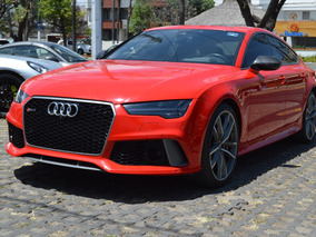 Audi Rs7 2017 Performance Package Rojo