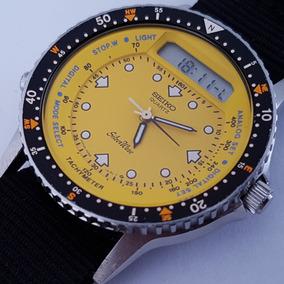 Seiko Quartz H556 510b Mini Arnie Silver Wave Yy #726