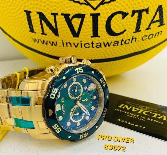 Relógio Invicta Pro Driver 80072 Produção 2019 Frete Grátis