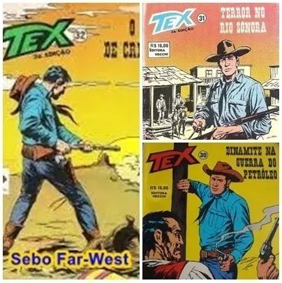 Gibi / Revista Tex Mensal - 30, 31 E 32