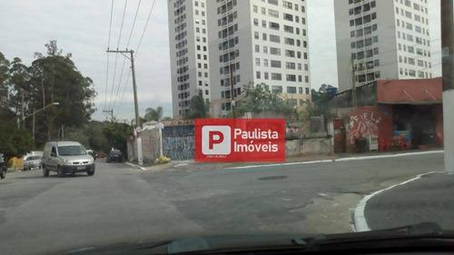 Terreno Residencial À Venda, Jardim Sabará, São Paulo. - Te0251