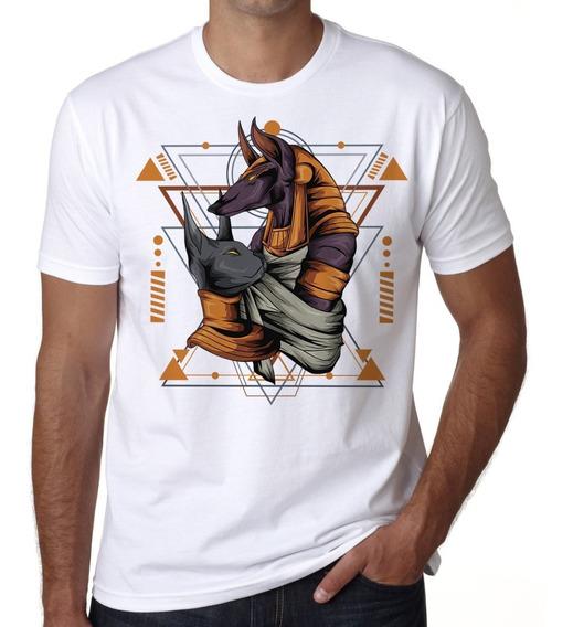 Playera Hombre Faraon Anubis Egipcio Token A La Moda