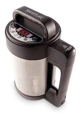 Imagen 1 de 3 de Sopera Soup Maker Smartlife 1,6lt. Electrica 1000w Acero Ino