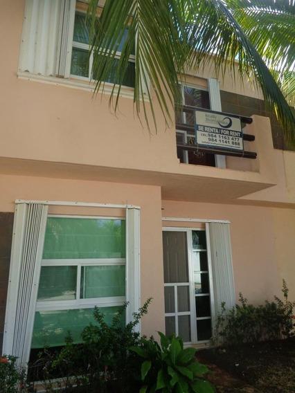Casa Amueblada En Renta 3 Recamaras Playa Del Carmen