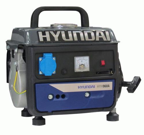 Generador A Nafta Hyundai 800w Monofasico 2 Tiempos G P