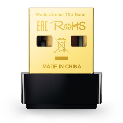 Tp-link Archer T2u Nano Ac600 Usb Inalámbrico Dual Band