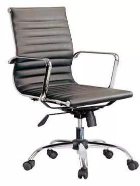 Oficina Sillas EamesRespaldo Aluminio Cromo Medio NwmvnO80