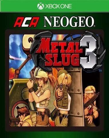 Aca Metal Slug 3 Xbox One Xone Código 25 Dígitos Envio Já