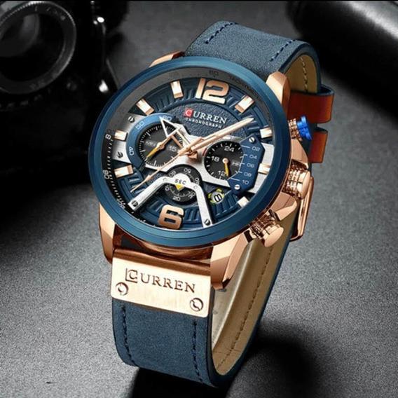 Relógio Lancamento Cronógrafo Curren 8329 Super Promoção
