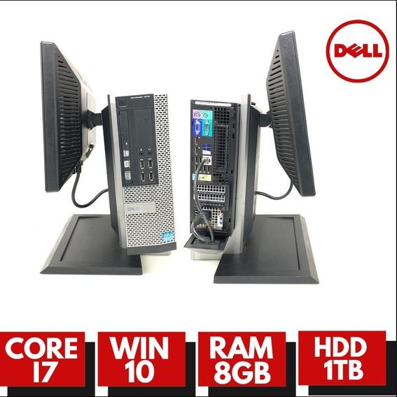 Pc Dell I7 Hd 1tb Ram Ótimo Para Escritório+ Wifi Com Tela