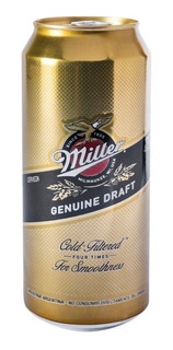 Cerveza Miller Lata 473 Ml.