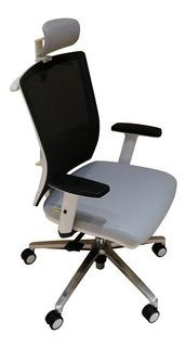 Cadeira Executiva Apoio De Lombar E Cabeça