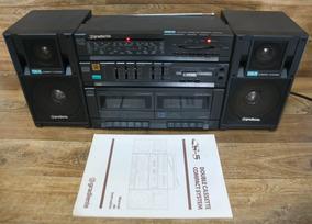 Radio Gravador Gradiente Cs-5 Com Manual