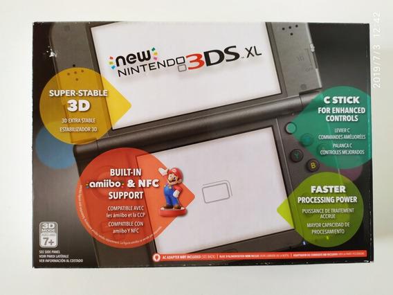 Console Nintendo New 3ds Xl - New Black - Original