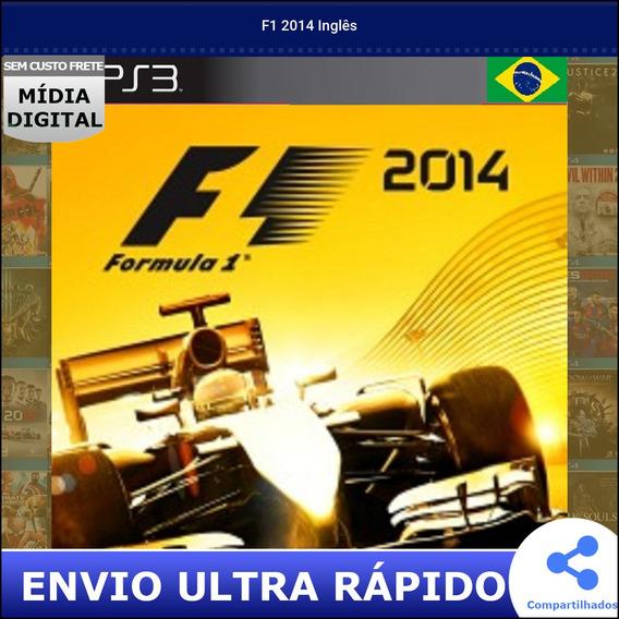 F1 2014 Inglês Midia Digital Envio Na Hora