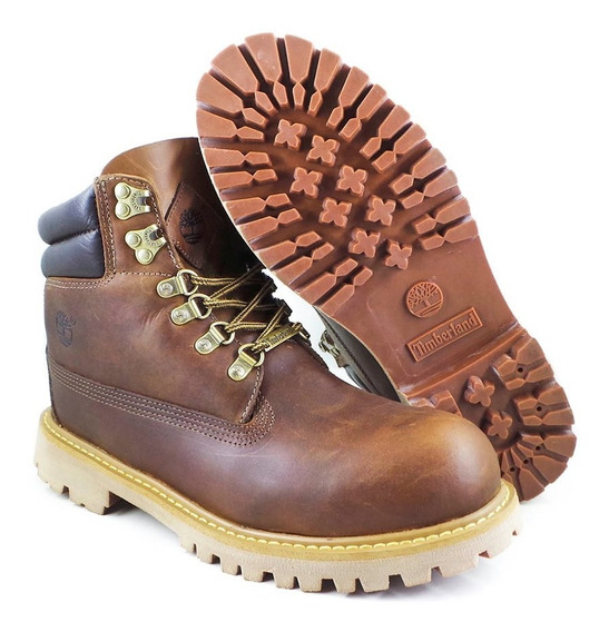 Bota Timberland Original Masculina Brooklyn Bunt Marrom Crazy House