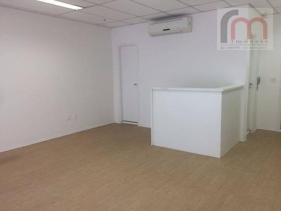 Sala Comercial Pronta Para Locação, Boqueirão, Santos. - Codigo: Sa0253 - Sa0253
