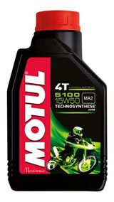 Óleo Motul 5100 4t 15w50 1l Semissintético Pronta Entrega