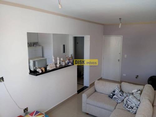 Imagem 1 de 8 de Apartamento Com 1 Dormitório À Venda, 47 M² Por R$ 265.000,00 - Jardim Do Mar - São Bernardo Do Campo/sp - Ap2140