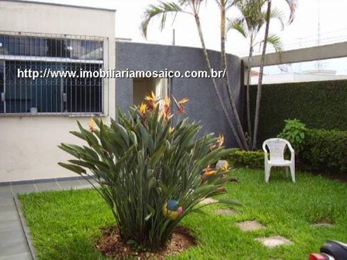 Imagem 1 de 2 de Ótima Localização, Total Infraestrutura De Comércio, Casa Térrea Com Edícula. - 93417 - 4491855
