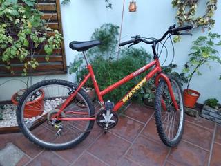 Bicicleta Rodado 26 Con 18 Velocidades