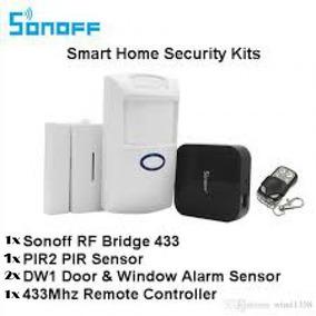 Kit De Alarme Sonoff Bridge 433