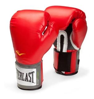 Guantes Boxeo Everlast Pro Style + Funda Box Kick - Estacion Deportes Olivos