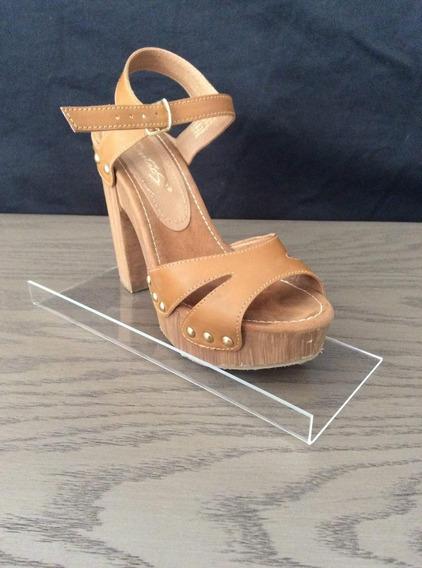 20 Exhibidor Para Panel En Acrílico Para Zapato