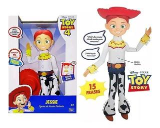 Jessie Vaquerita Interactiva Orig Toy Story 15 Son Tiendajyh