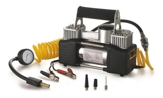 Compressor Ar Portatil Pneu Veicular 12v Calibrador Novo