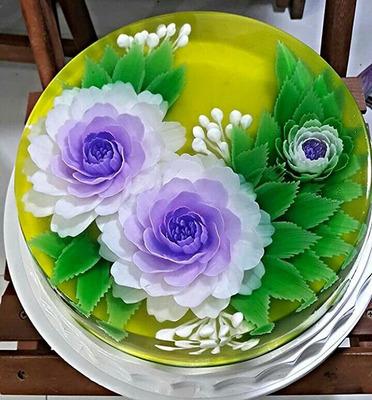 ¿como Hacer Gelatinas Florales?
