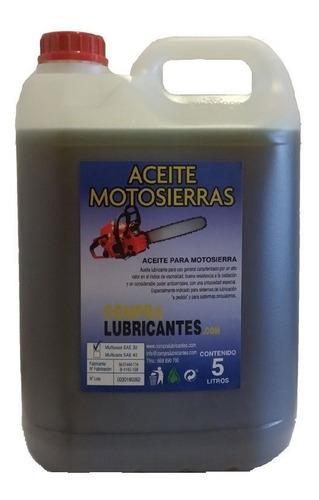Imagen 1 de 2 de Aceite Para Cadena De Motosierra Especial 5litros 100% Nuevo