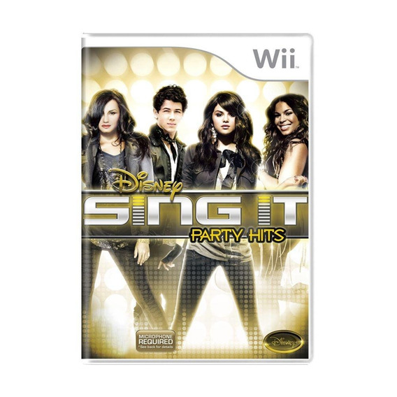 Disney Sing It Party Hits Wii Mídia Física Pronta Entrega
