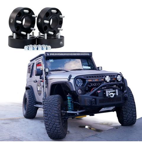 Imagen 1 de 10 de Kit Espaciadores Jeep Wrangler 5/127 Jk 2 Pulgadas 07/2018