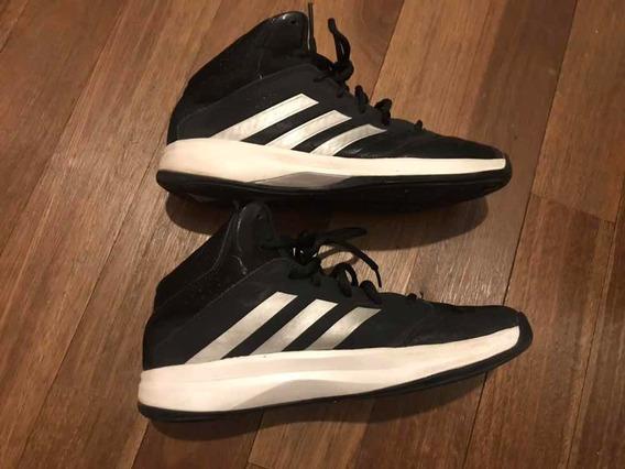 Zapatillas adidas Basketball Basquet Cuero