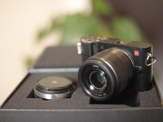 Câmera Xiaomi Yi M1 + Lente Kit Zoom M4/3 4k
