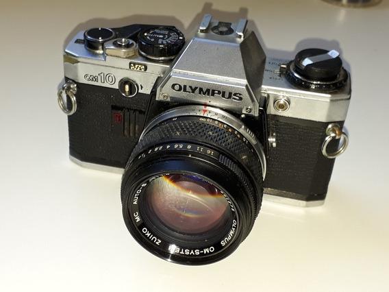 Câmera Fotográfica Analógica Olympus Om10
